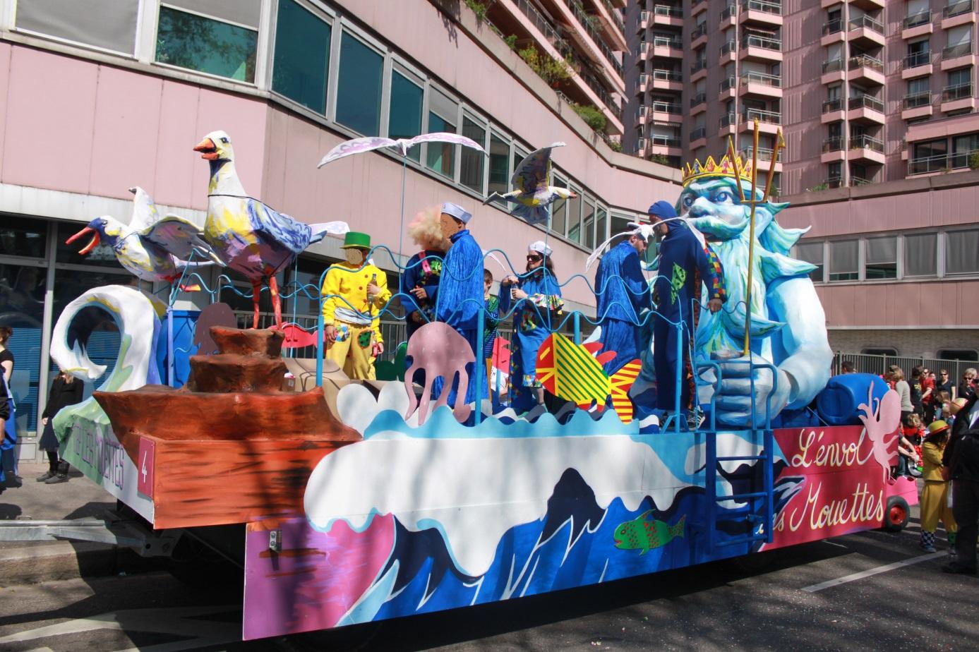 enfance carnaval de strasbourg dimanche 6 avril l envol des mouettes fondation vincent. Black Bedroom Furniture Sets. Home Design Ideas