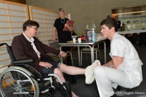 Les épreuves des Olympiades des métiers de l'aide à la personne